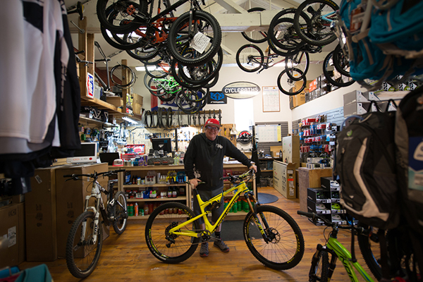 About Cyclepaths mountain bike shop